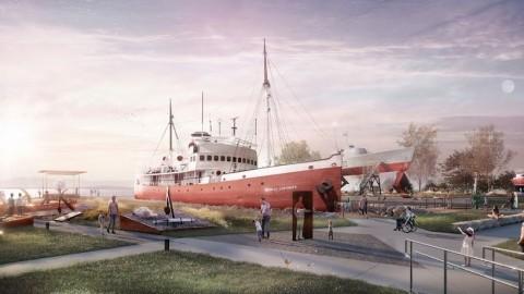 Projet de nouveau Parc fluvial au Musée maritime du Québec : la phase publique de sa campagne majeure de financement est lancée