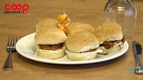 Chronique culinaire Magasin Coop IGA - Minis burgers au saumon - 16 septembre 2021