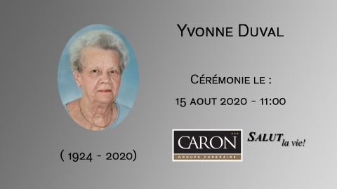 Yvonne Duval