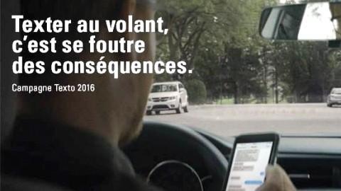 Opération provinciale contre le téléphone cellulaire au volant