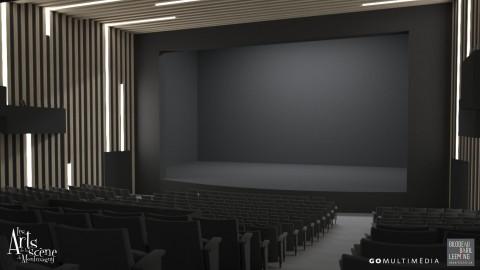Les plans de la salle rénovée Edwin-Bélanger sont dévoilés
