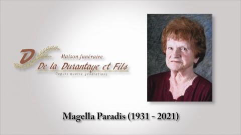 Magella Paradis (1931 - 2021)