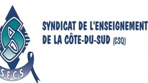 Première grève pour les enseignants du Syndicat de l'enseignement de la Côte-du-Sud