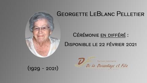 Georgette LeBlanc Pelletier