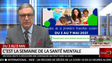 Bonjour Côte-du-Sud - Lundi 3 mai 2021