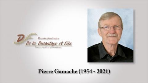 Pierre Gamache (1954 -  2021)