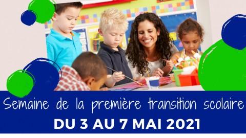 C'est bientôt la première édition de la Semaine de la première transition scolaire