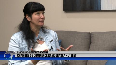 Entrevue - Nancy Dubé, dir.-gén. de la Chambre de commerce Kamouraska L'Islet - 13 octobre 2021