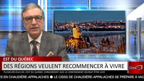 Bonjour Côte-du-Sud - Lundi 25 janvier 2021