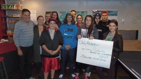 Une somme de plus de 8000 $ remise dans la communauté par le Club Richelieu de La Pocatière