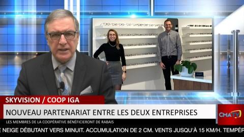 Bonjour Côte-du-Sud - Mercredi 13 janvier 2021