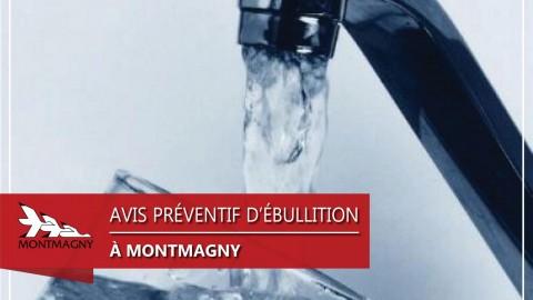 Coupure d'eau temporaire et avis d'ébullition préventif pour certains citoyens à Montmagny