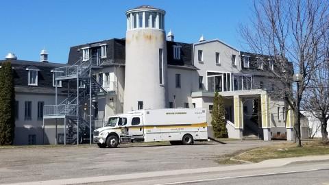 La Sûreté du Québec procède à des manœuvres d'entrainement à L'Islet
