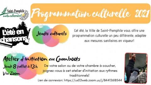 La programmation culturelle de Saint-Pamphile s'adapte au contexte de pandémie!