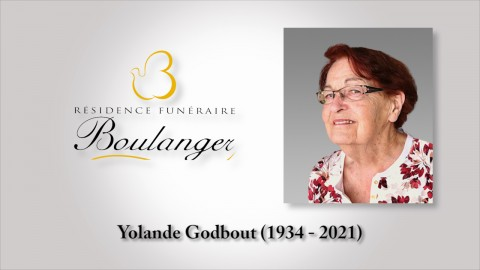 Yolande Godbout (1934 - 2021)