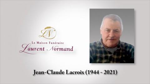 Jean-Claude Lacroix (1944 - 2021)