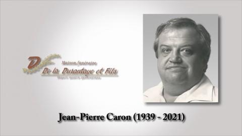 Jean-Pierre Caron (1939 - 2021)