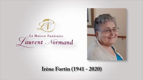 Irène Fortin (1941 - 2020)