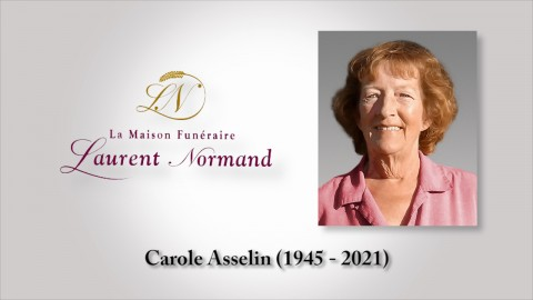 Carole Asselin (1945 - 2021)