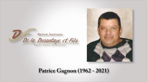 Patrice Gagnon (1962 - 2021)