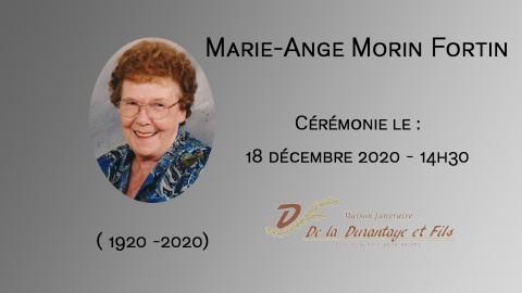 Marie-Ange Morin Fortin