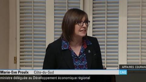 La ministre Proulx refuse de s'excuser à l'Assemblée nationale concernant des propos tenus envers un député libéral