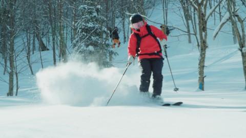 Il y a désormais du ski à la montagne Grande Coulée!