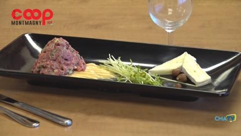 Chronique culinaire Magasin Coop IGA - Tartare de veau au brie - 8 avril 2021