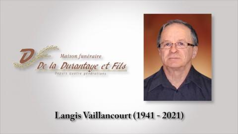 Langis Vaillancourt (1941 - 2021)